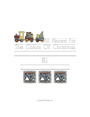 Easy Reader Booklet: The Colors Of Christmas