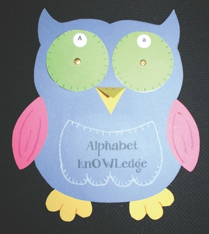 "Ollie the ""Owl-phabet"" Wheel"
