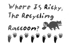 Booklet: Where Is Ricky The Recycling Raccoon?