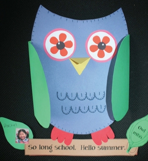 Owl Miss Writing Prompt Craftivity