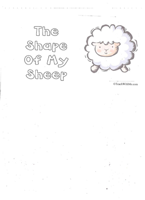 Booklet: The Shape Of My Sheep