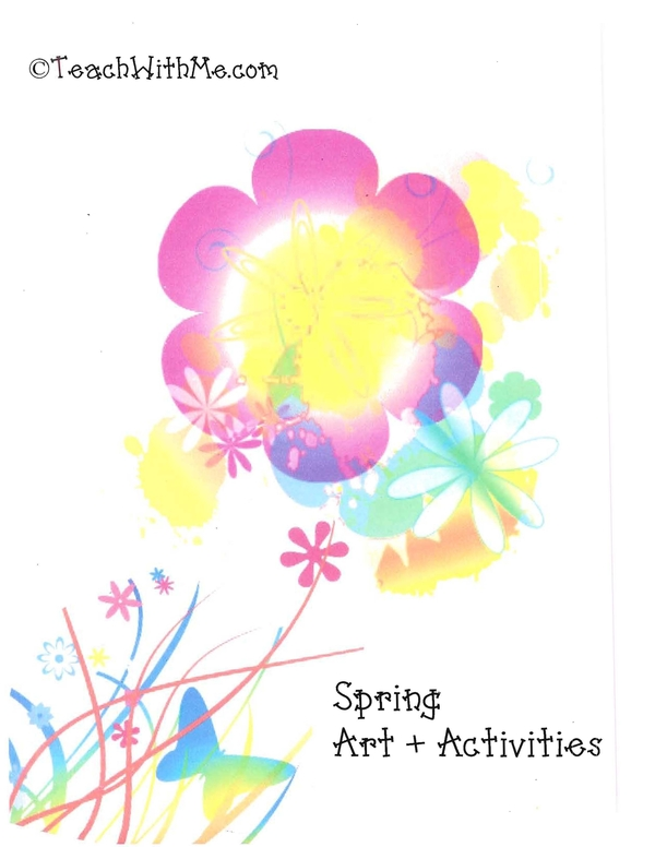 Spring Art + Activities Book