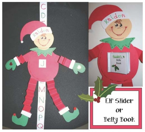 Elf Slider & Belly Booklet