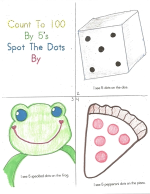 100 Day Counting By 5's Booklet