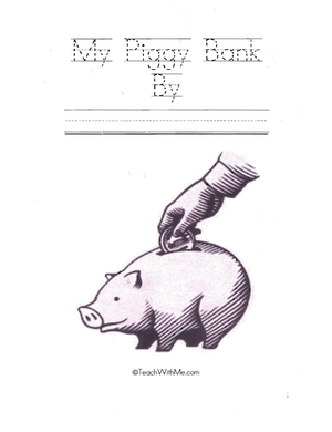 Easy Reader Booklet: My Piggy Bank