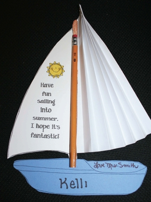 Sailing Into Summer/New School Year Treats