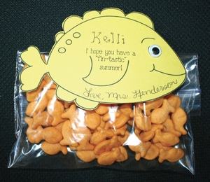 Fintastic Fishy Cracker Treat Bags