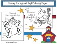 Hooray For A Great Day Back To School Coloring Pages