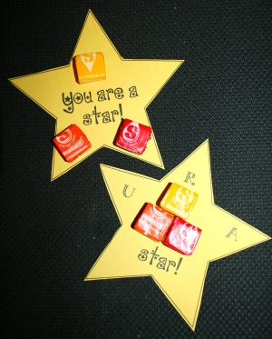 Back To School Starburst Treats