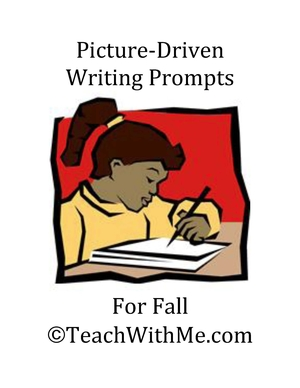 Fall Picture Driven Writing Prompts