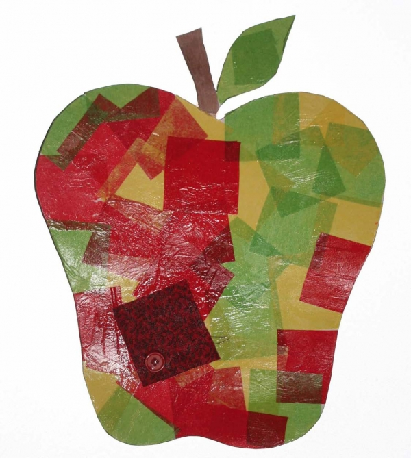 Tissue Paper Apple