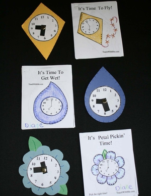 Telling Time Clock Collection Booklets II