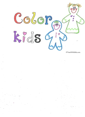 Booklet: Color Kids