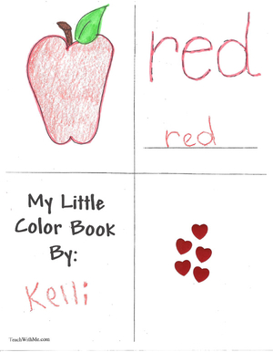 Booklet: My Little Color Books