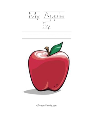 Easy Reader Booklet: My Apple