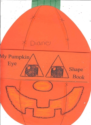 Booklet: My Pumpkin Eye Shape Book