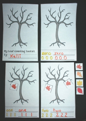 Leaf Counting Booklet