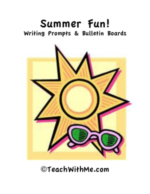 Summer Fun Writing and Bulletin Board Book