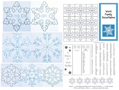 Snowflake Word Families