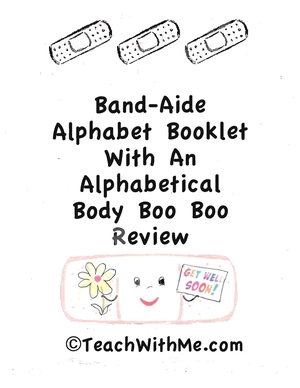 Band-Aide Alphabet Booklet