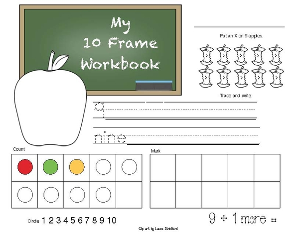 10 Frames Activity Packet