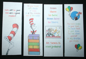 Dr. Seuss Bookmarks