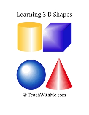 Learning 3D Shapes Book