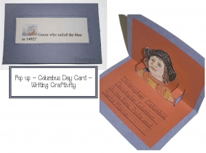 Columbus Day Pop-Up Card