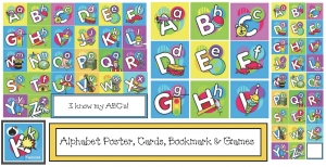 ABC Cards, Poster, Bookmark & Games