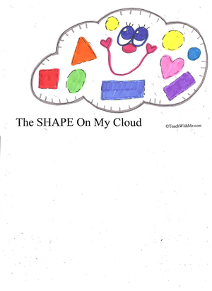 Booklet: The Shape On My Cloud