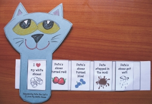 Pete the Cat Story Slider