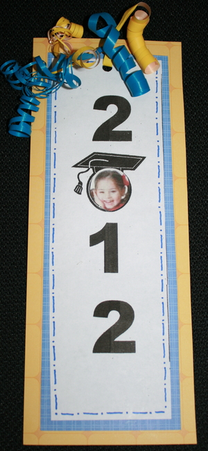 Graduation Bookmark Through 2035