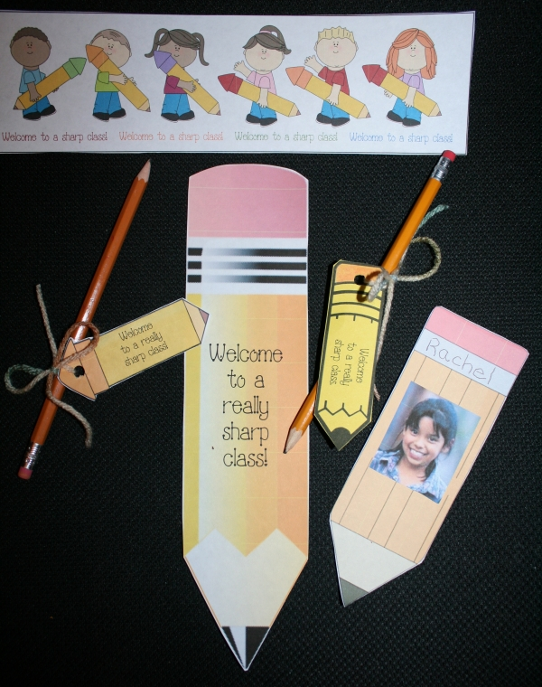 Back To School Pencil Pack