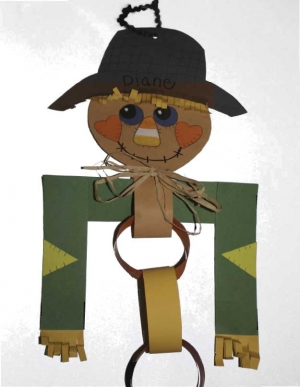 Scarecrow Paper Chain Craftivity