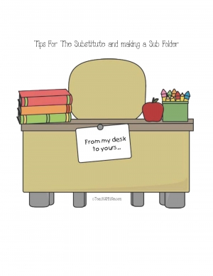 Tips For The Substitute