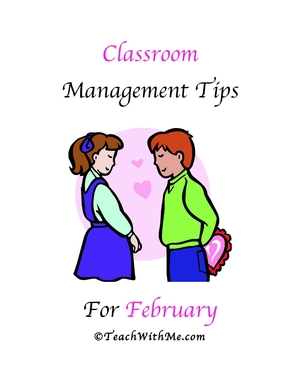 Classroom Management Tips For February
