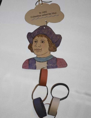 Christopher Columbus Paper Chain Craftivity
