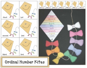 Ordinal Number Kites