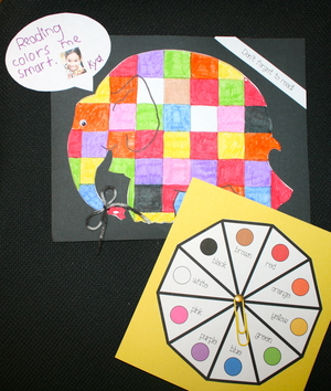 Horton and Elmer Activity Packet