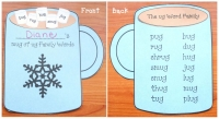 UG Word Family Mug Craftivity