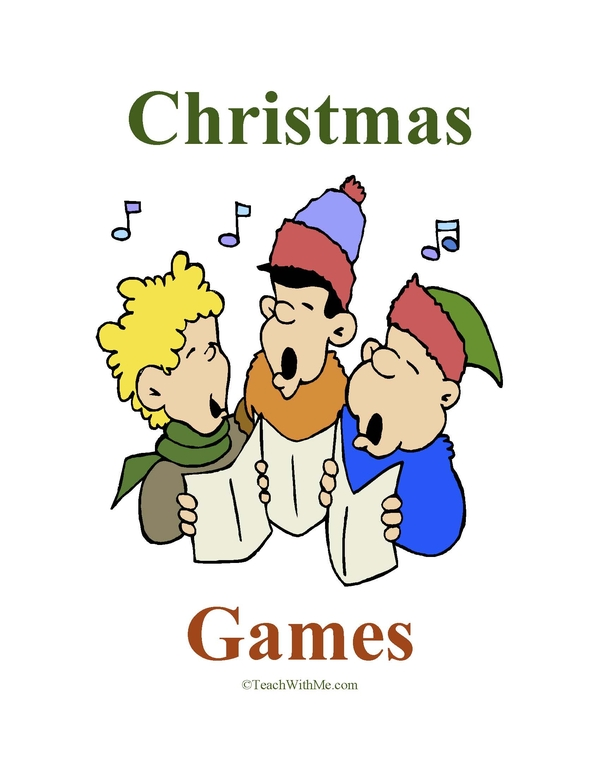 Christmas Games Book