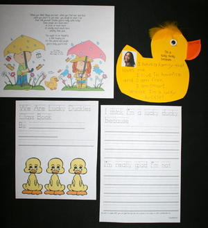 Dr. Seuss Lucky Ducky Writing Prompt Craft
