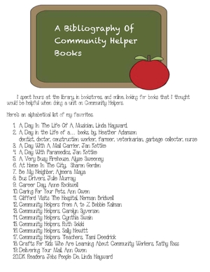 Community Helpers Bibliography