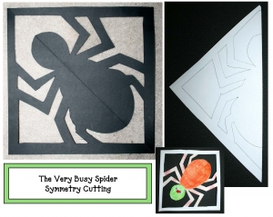 The Very Busy Spider Symmetry Cutting