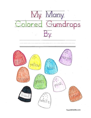 Easy Reader Booklet: My Many Colored Gumdrops