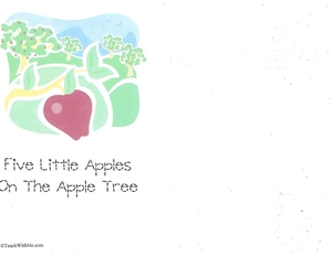 Booklet: 5 Little Apples On The Apple Tree