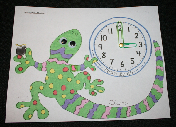 Leapin' Lizards Time Bomb Game