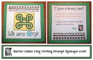 Martin Luther King Day Writing Prompt Crafts