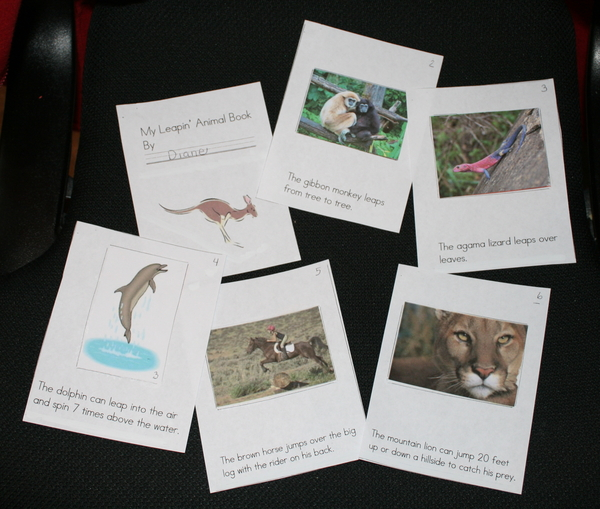 My Leapin' Animal Booklet