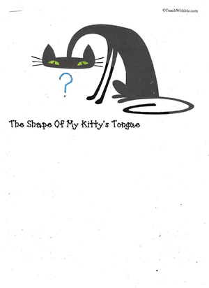 Booklet: The Shape Of My Kitty's Tongue